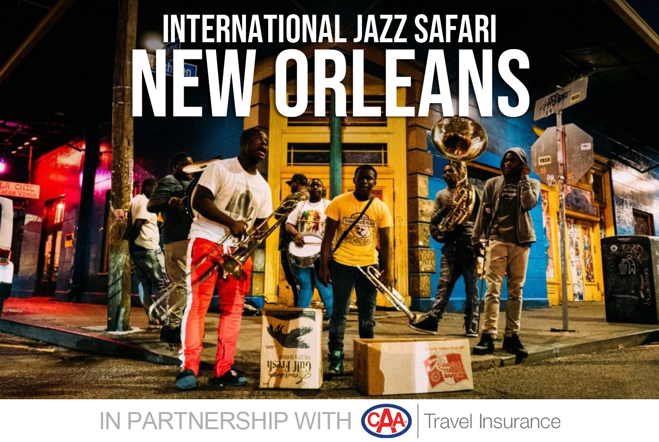 New Orleans Events May 2020.Jazz Fm91 Caa International Jazz Safari To New Orleans