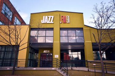 JAZZ.FM91 office exterior photographed by Mary Kate Dall